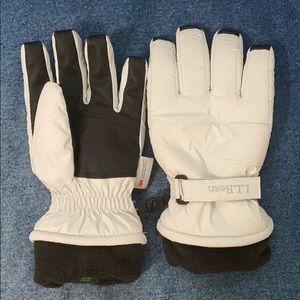 L.L. Bean snow gloves